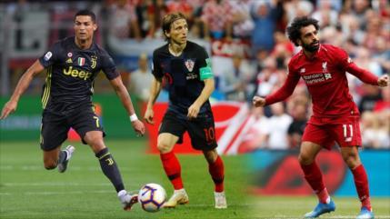 Ronaldo, Modric y Salah, aspiran al trofeo de FIFA; Messi fuera