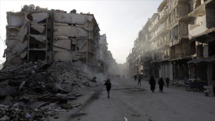 Damasco denuncia escasez de fondos de ONU para reconstruir Siria