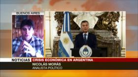 Morás: Política económica de Macri es apagar incendio con gasolina