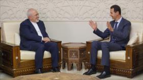 Zarif reitera apoyo de Irán a Siria en su lucha contra terrorismo
