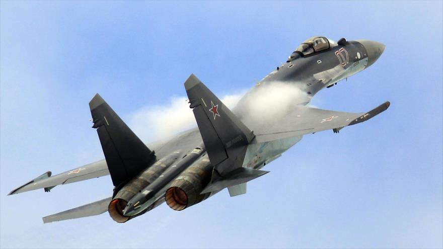 """El caza ruso Su-35 es """"la peor pesadilla"""" de EEUU"""