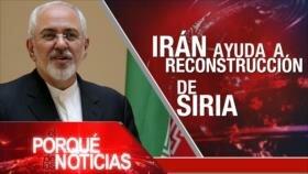 El Porqué de las Noticias: Siria hacia el fin de la crisis. Cataluña por un nuevo referéndum. Crisis financiera de Argentina