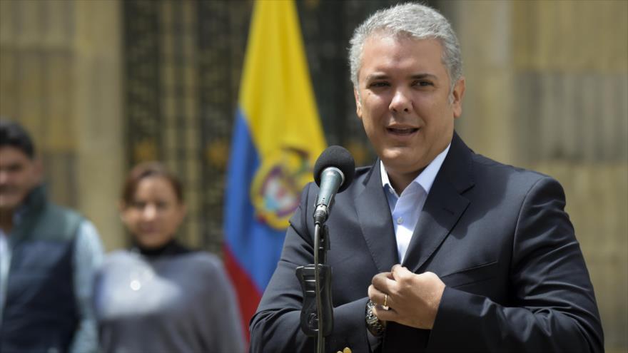 """Duque: Reconocimiento de Palestina por Colombia es """"irreversible"""""""