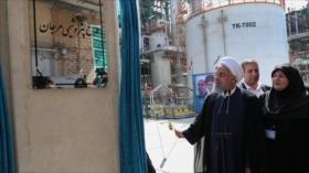 Presidente de Irán inaugura tres grandes proyectos petroquímicos