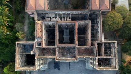 Unesco ve incendio del Mueso de Brasil como destrucción de Palmira