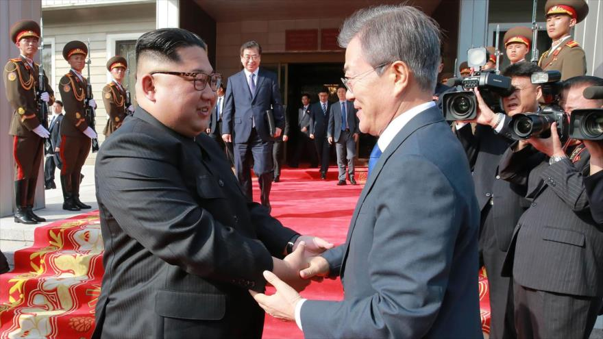 """Pyongyang denuncia """"acto estúpido"""" de EEUU de bloquear paz entre Coreas"""