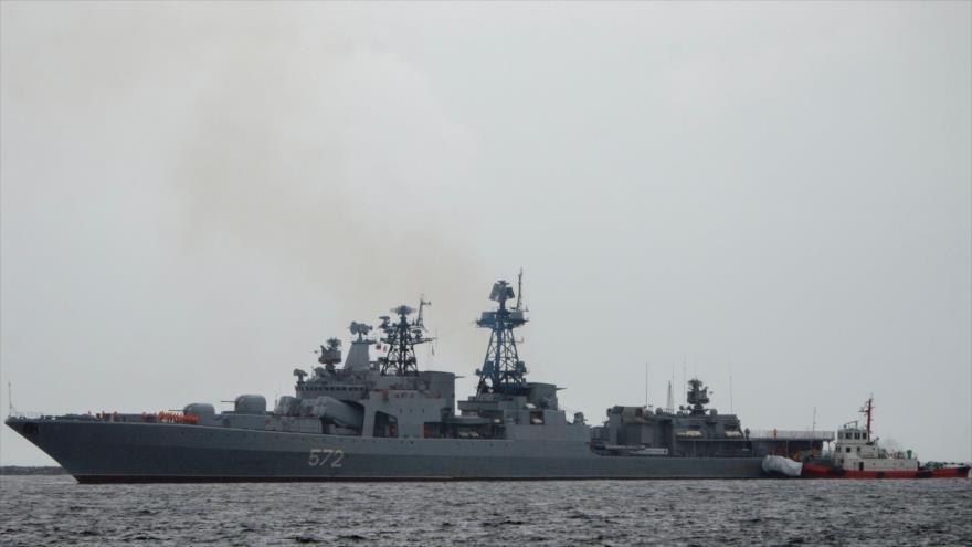 Rusia realiza mayor despliegue naval en mar de Japón desde Guerra Fría