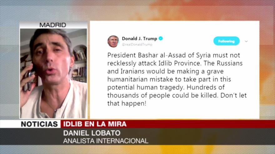 Lobato: EEUU usará a Cascos Blancos para justificar ataque a Siria