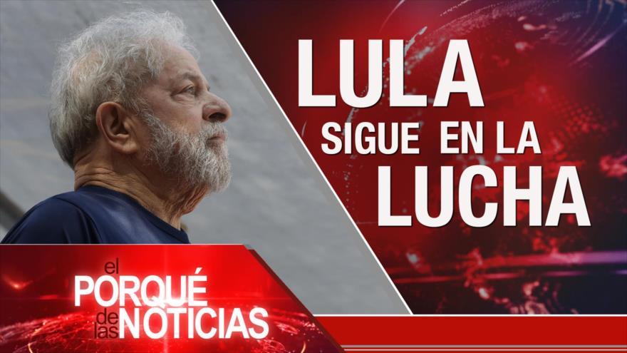 El Porqué de las Noticias: Exportaciones petroleras de Irán. ONU sin fondos para palestinos. Lula sigue en lucha