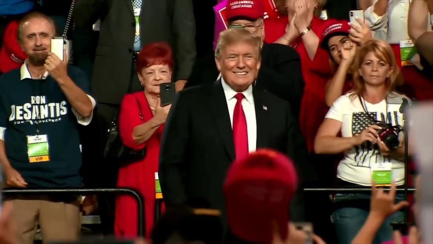 EEUU, país dividido por una presidencia en decadencia