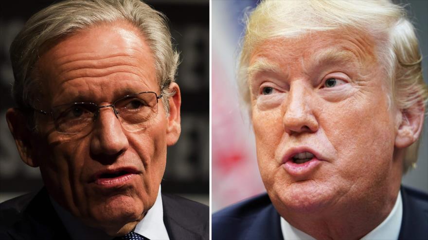 Un libro revelador sobre Donald Trump agita la Casa Blanca