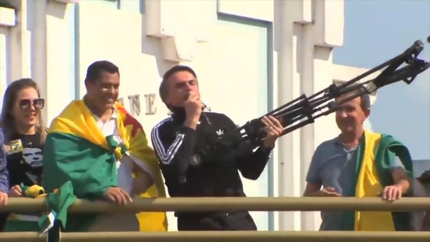 PT denuncia a Bolsonaro por incitar a 'fusilar' a izquierdistas