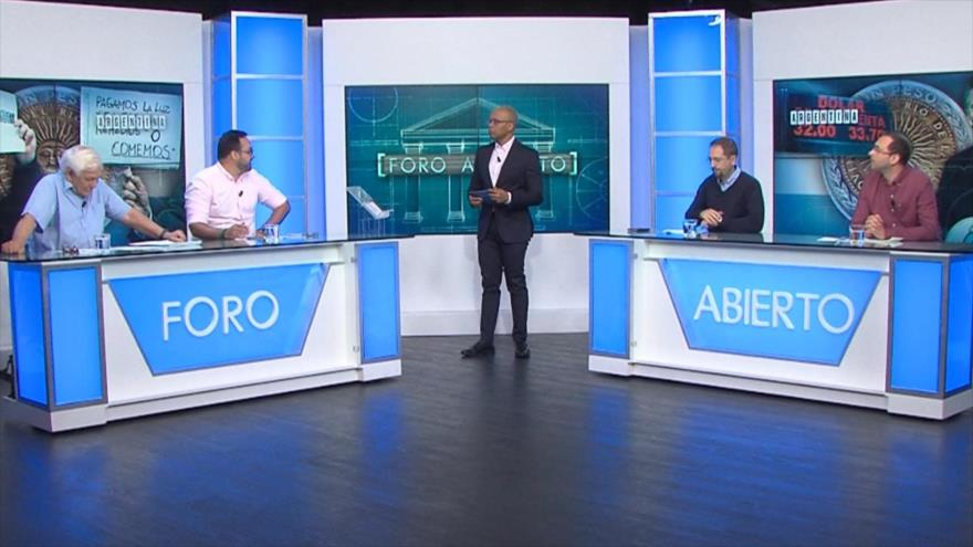 Foro Abierto; Argentina: la crisis económica noquea a Macri