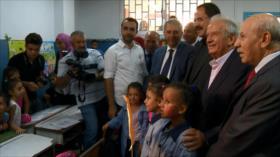 Ministerio de Educación libanés ofrece su apoyo a UNRWA