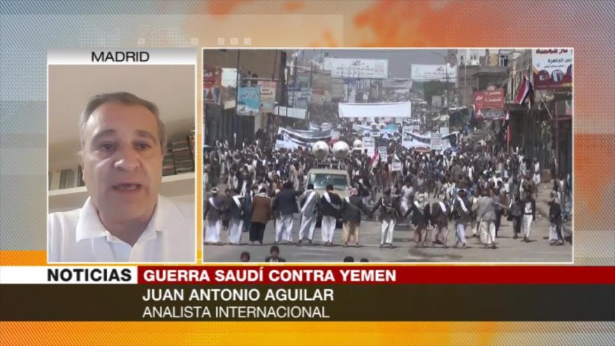 Aguilar: Riad frena diálogo sobre Yemen para no 'perder' la guerra