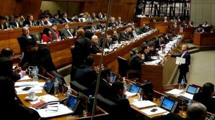 Ola de renuncias en Parlamento de Paraguay por caso de corrupción