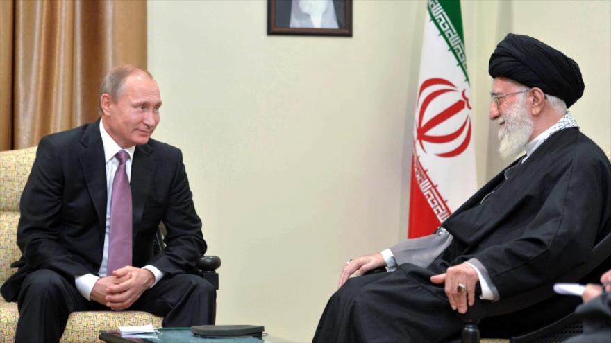 Rusia: Putin dialogará con Líder de Irán sobre el conflicto en Siria