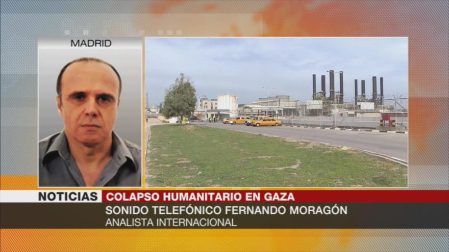 """Moragón: """"Muy complicado"""" evitar colapso de servicios en Gaza"""