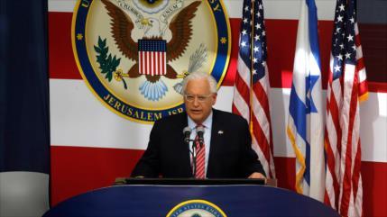 """Embajador de EEUU ante Israel evoca ocupación """"perpetua"""" del Golán"""