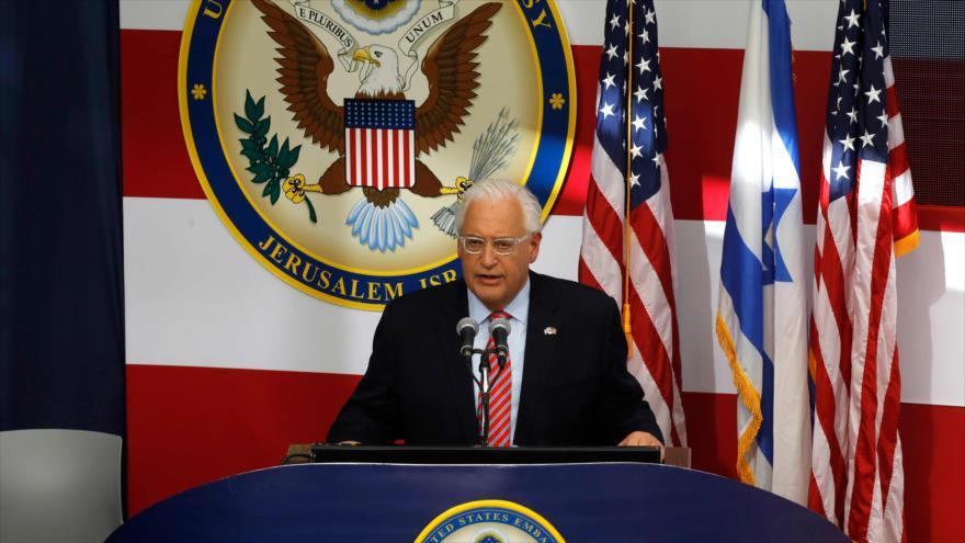 """Embajador de EEUU ante Israel evoca ocupación """"para siempre"""" del Golán"""