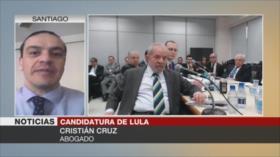 Cruzː Aún quedan recursos para validar la candidatura de Lula