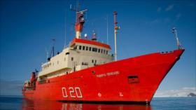 Armada británica intercepta a buque argentino cerca de Malvinas