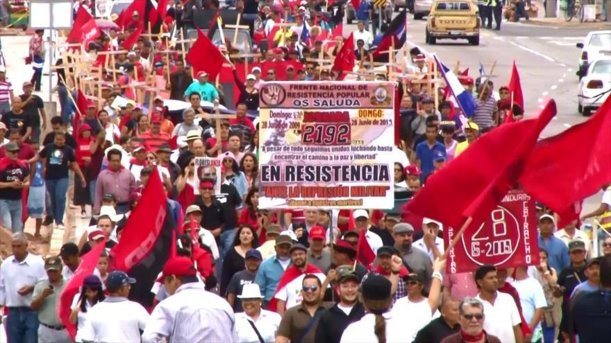 Disputa en Honduras por desfiles patrios