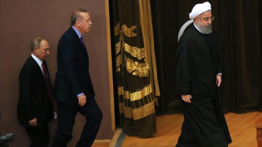 'Medida única ante EEUU sobre Siria, en la agenda de cumbre de Teherán'