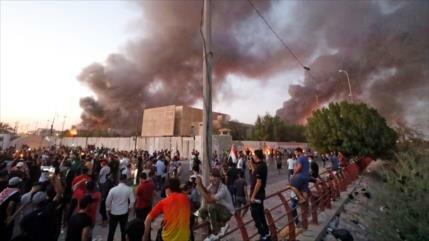 Iraquíes acusan a EEUU y Arabia Saudí por la violencia en Basora