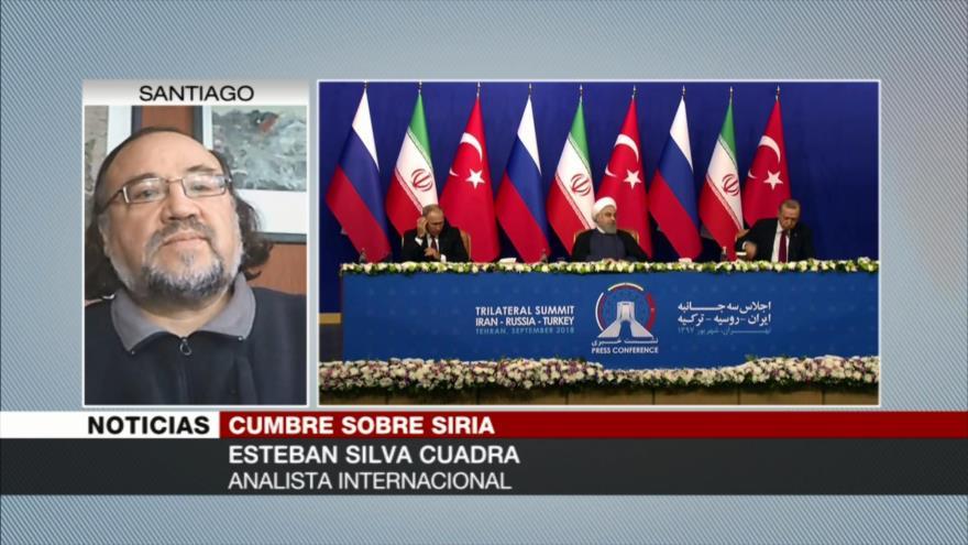 Cuadra: Irán, Rusia y Turquía estabilizan la situación de Siria