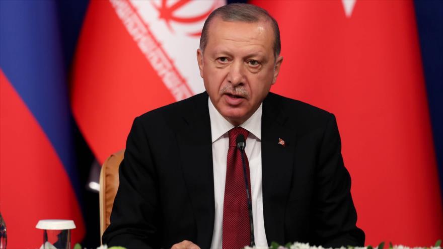 Erdogan pide un alto el fuego en la provincia siria de Idlib