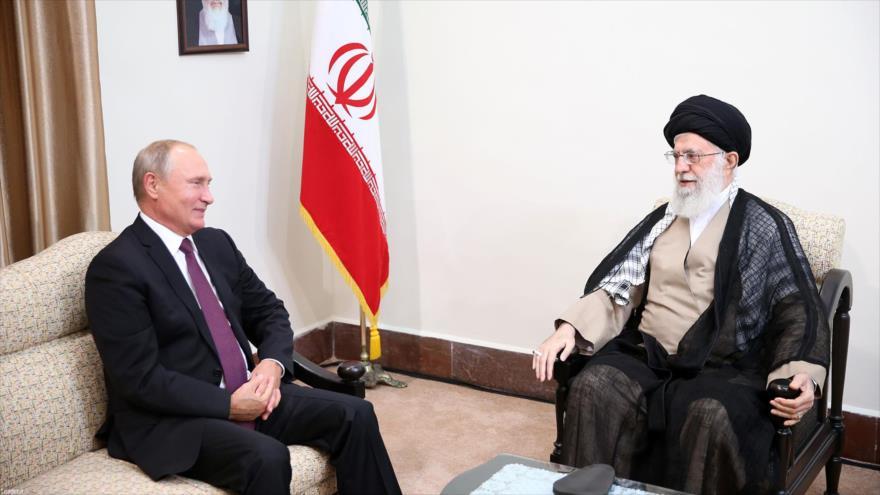 Líder de Irán: Moscú y Teherán juntos pueden contener a EEUU