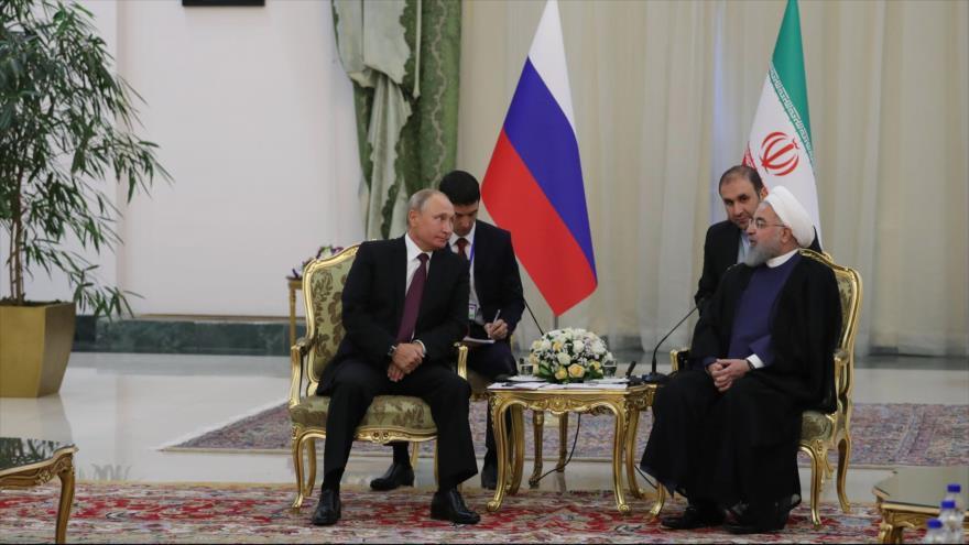 Rohani y Putin coinciden en erradicar el terrorismo en Siria   HISPANTV