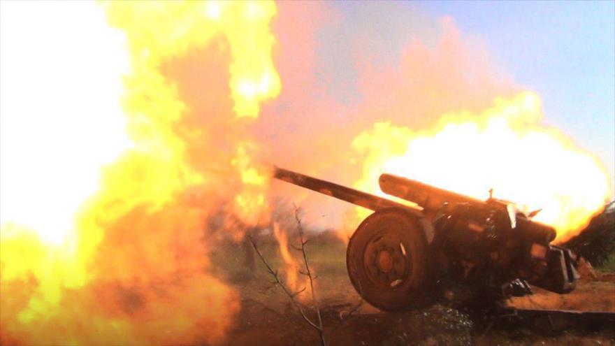 Ataque terrorista con cohetes deja 9 civiles muertos en Siria
