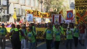 El mundo marcha contra el cambio climático