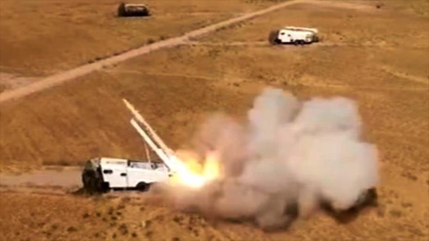 Misiles iraníes golpean base de terroristas en Kurdistán iraquí