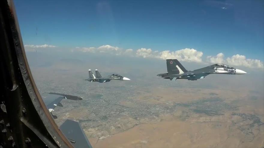 Rusia desafía a EEUU con maniobras militares cerca de Siria