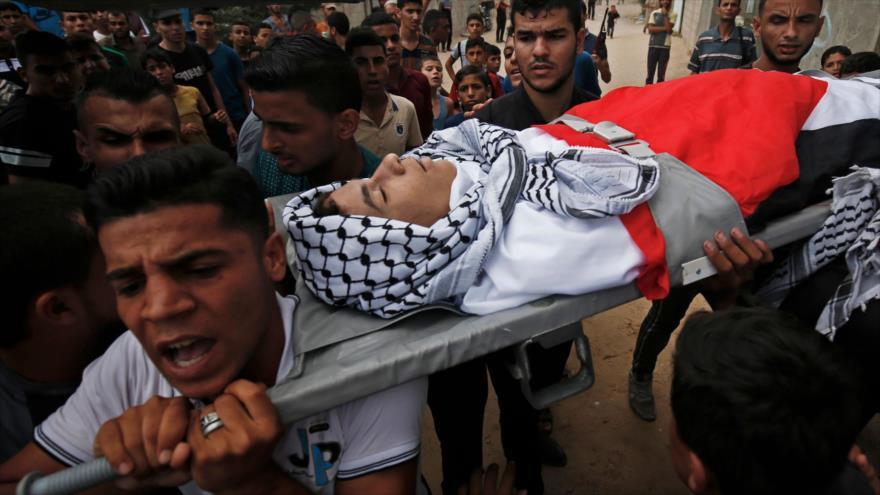 Soldados israelíes matan a tiros a un palestino en Franja de Gaza