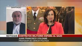 'Apoyo de España a Riad muestra que Madrid es sumiso a OTAN'