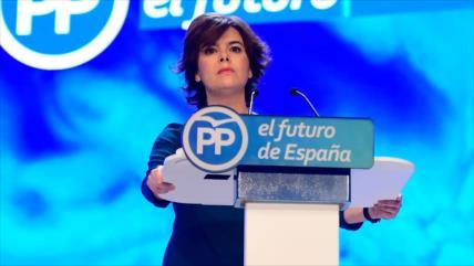 Soraya Sáenz de Santamaría se despide de vida política