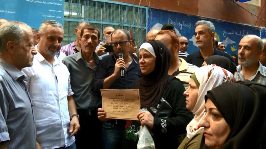 Refugiados palestinos en El Líbano: Única alternativa es el retorno