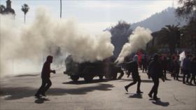 Vídeo: Enfrentamientos en 45.º aniversario de golpe militar en Chile