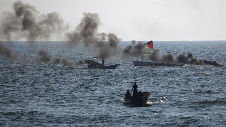 Israel dispara contra barcos que intentan romper asedio de Gaza