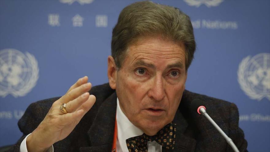 El experto independiente de la Organización de las Naciones Unidas (ONU), Alfred de Zayas.