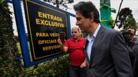 Haddad sustituye a Lula como candidato a presidenciales de Brasil