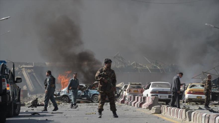19 personas han muerto y otras 57 han resultado heridas en el este de Afganistán en un atentado suicida durante una marcha