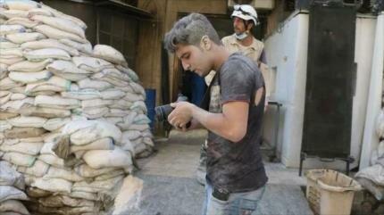 Rusia revela grabación de falsos ataques químicos en Idlib