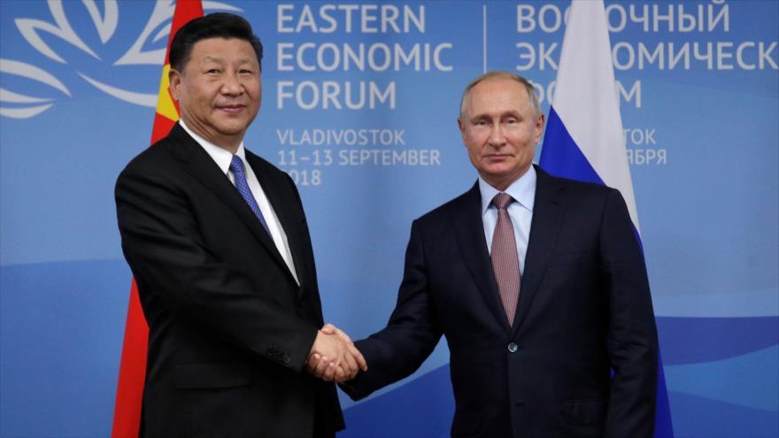 China y Rusia refuerzan relaciones en Foro Económico Oriental