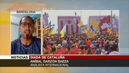 Garzón Baeza: Catalanes ahora luchan por democracia y libertad