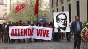 Chile recuerda los 45 años del golpe de Estado contra Allende
